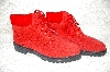 "**MBAB #29-285  ""Premier Shoes Red Sweater Hiker Boot"""