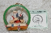 "**MBAB #29-009  ""Norman Rockwell ""Santa's Children"" 1987 Ornament"""