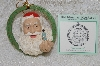 "**MBAB #29-001  ""Norman Rockwell ""Santa's Magic"" 1987 Ornament"""