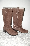 "**MBAB #99-110  ""Newport News Brown Suede Riding Boot"""