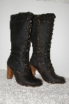"**MBAB #99-144  ""Frye Expresso Leather Villager  Lace Up Boots"""
