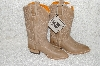 "**MBAB #99-363  ""Fry Western Embossed Leather Cowboy Boots"""