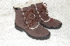 "**MBAB #99-295  ""Deer Stags Brown Suede Lined Hiking Boots"""