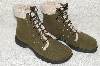 "**MBAB #99-302  ""Mee Too Olive Green Lace Up Boots"""