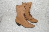 "**MBAB #99-282  ""Oak Tree Farms Tan Leather Lace Up Boot"""
