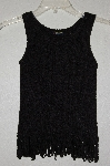 "MBAMG #25-055  ""Q Point Black Knit Tank"""