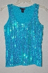 "MBAMG #25-354  ""Boston Proper Fancy Sequined Knit Tank"""