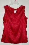 "MBAMG #25-019  ""Kathleen Kirkwood Red Washable Stretch Silk Camisole"""