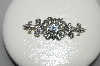 "**MBAMG #25-183 ""1980's Sterling Diamonque Fancy Pin"""