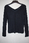 "**MBANF #650  ""Banana Republic Black Light Weight Stretch T"""