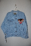 "**MBAMG #11-0717  ""Jordache Vinage Blue Denim Jacket"""