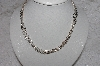 "**MBAMG #11-0973  ""Sterling Milor Triple Strand Mini-Circle Necklace"""