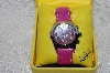 "*MBAMG #11-1022  ""Ladies Invicta Model #2521 Watch With Crocodile Strap"""