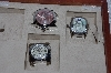 "*MBAMG #11-1028  ""Set Of 3 Invctia Mens Watches"""