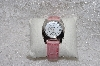 "*MBAMG #11-1058  ""Invicta Ladies Mother Of Pearl Pink Strap Watch"""