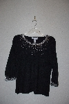 "MBAMG #79-042  ""Victor Costa Occasion 3/4 Sleve Sweater With Bead & Sequin Detail"""